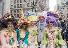 Desfile de Pascua y festival 2018 del capo fotografía de archivo