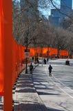 Desfile de puertas Imagen de archivo