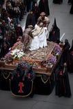 Desfile de Semana Santa (semana santa) Fotos de archivo libres de regalías