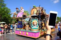 Desfile de Shangai Disney fotos de archivo libres de regalías