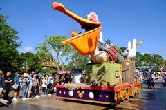 Desfile de Shangai Disney foto de archivo libre de regalías