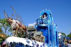 Desfile de Shangai Disney imagen de archivo libre de regalías