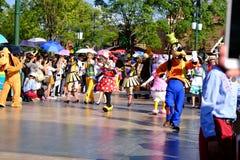 Desfile de Shangai Disney fotografía de archivo