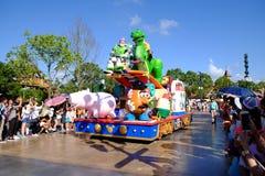 Desfile de Shangai Disney imagen de archivo