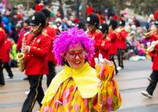Desfile de Toronto Papá Noel Fotos de archivo
