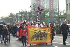 Desfile de tres hombres sabios Foto de archivo