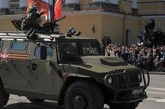 Desfile de Victory Day Military Fotografía de archivo