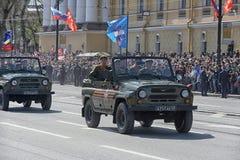 Desfile de Victory Day Military Imagen de archivo