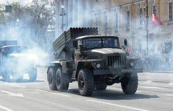 Desfile de Victory Day Military Fotos de archivo