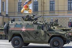 Desfile de Victory Day Military Imagen de archivo libre de regalías