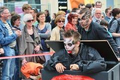 Desfile de Zinneke el 19 de mayo de 2012 Imagen de archivo