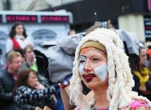 Desfile de Zinneke el 19 de mayo de 2012 en Bruselas Imágenes de archivo libres de regalías