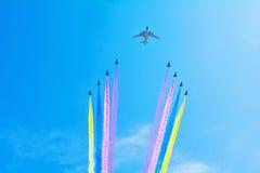 Desfile del aire Foto de archivo