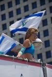 Desfile del amor en Tel Aviv fotografía de archivo