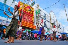 Desfile del baile Imagenes de archivo