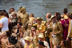Desfile 2014 del canal de Amsterdam Imagen de archivo
