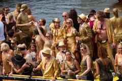 Desfile 2014 del canal de Amsterdam Fotografía de archivo