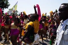 Desfile del Caribe 2018 de Baltimore imagenes de archivo
