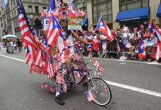 Desfile del día de 2010 puertorriqueños Fotografía de archivo libre de regalías