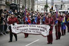 Desfile del día de Año Nuevo en Londres Fotos de archivo