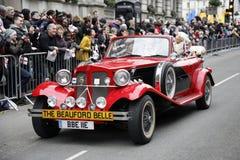 Desfile del día de Año Nuevo en Londres Imágenes de archivo libres de regalías