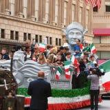 Desfile del día de Columbus foto de archivo libre de regalías
