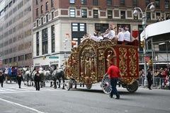 Desfile del día de la acción de gracias imagen de archivo