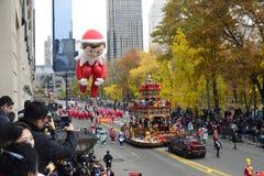 Desfile 2016 del día de la acción de gracias - New York City Imágenes de archivo libres de regalías