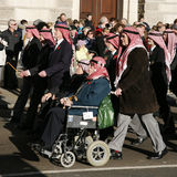 Desfile del día de la conmemoración, 2012 Foto de archivo libre de regalías