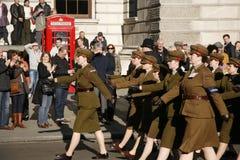 Desfile del día de la conmemoración, 2012 Imagen de archivo
