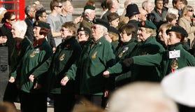 Desfile del día de la conmemoración Fotografía de archivo