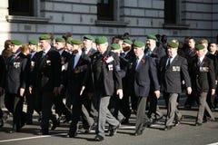 Desfile del día de la conmemoración Imágenes de archivo libres de regalías