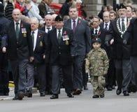 2015, desfile del día de la conmemoración, Londres Fotos de archivo libres de regalías