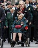 2015, desfile del día de la conmemoración, Londres Imagen de archivo libre de regalías