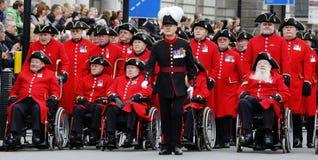 2015, desfile del día de la conmemoración, Londres Fotos de archivo