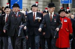 2015, desfile del día de la conmemoración, Londres Imágenes de archivo libres de regalías