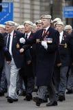 2015, desfile del día de la conmemoración, Londres Imagenes de archivo