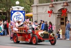 Desfile del día de la familia en el mundo de Disney, Orlando Imagenes de archivo