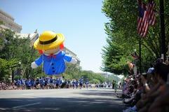 Desfile del Día de la Independencia Imagen de archivo libre de regalías