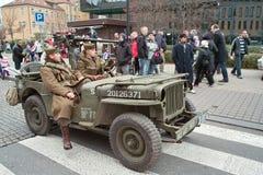 Desfile del Día de la Independencia. Fotos de archivo libres de regalías