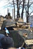 Desfile 2017 del Día de la Independencia de Estonia Fotografía de archivo libre de regalías