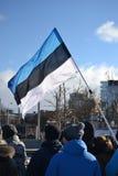 Desfile 2017 del Día de la Independencia de Estonia imágenes de archivo libres de regalías
