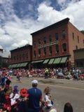 Desfile del Día de la Independencia del telururo foto de archivo