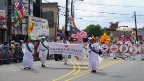 desfile del día de la India de 2015 publicaciones anuales en Edison, New Jersey Fotos de archivo