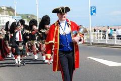 Desfile del día de St.Georges, Hastings Fotografía de archivo libre de regalías