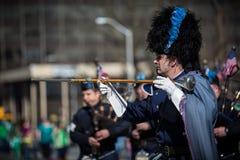 Desfile del día de St Patrick Imagen de archivo libre de regalías