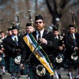 Desfile del día de St Patrick fotografía de archivo