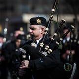 Desfile del día de St Patrick Foto de archivo libre de regalías