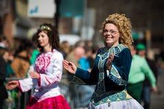 Desfile del día de St Patrick imagenes de archivo