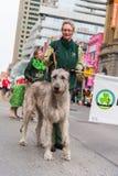 Desfile del día de St Patrick en Toronto fotografía de archivo libre de regalías